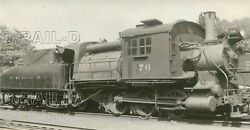 9dd934 Rp 1920s/50s Crr Of Nj Central Railroad New Jersey 0-6-0c Locomotive 76