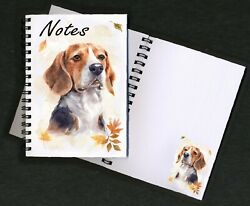 Beagle Hound Dog Notebook Notepad small image on every page by Starprint