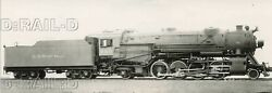 9dd939 Rp 1920s/50s Crr Of Nj Central Railroad New Jersey 2-8-2 Loco 860