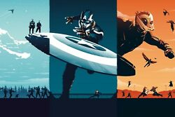 Captain America Movie Trilogy Poster 24x36 Inches Marvel Comics