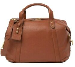 Authentic Brand New Cole Hann Overnight Leather Brown Bag. Beautiful.