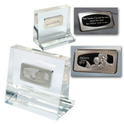 1975 Fatherandrsquos Day Silver Bar Andldquothe Books I Loved The Best Were