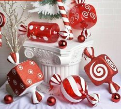 Christmas Decorations Scene Layout Gift Ornament Pendant Transparent Candy Props