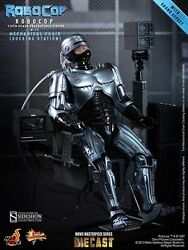 1/6 Scale Robocop With Mechanical Chair 12 Inch Figure By Hot Toys