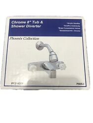 Phoenix Faucets Chrome 8 Concealed Tub/shower Rv Camper Trailer Mobile Home