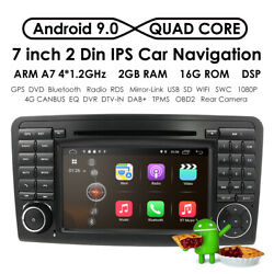 7 Android Car 2gb Gps Stereo Nav Dvd For Mercedes-benz Ml Class W164 X164 Ml350