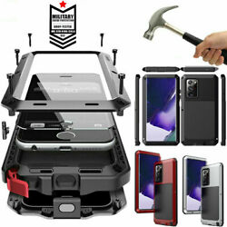 Aluminum Heavy Duty Case For Samsung S21 Ultra S10 Note 10 Plus 20 S20+ Ultra