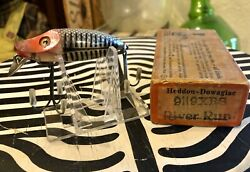 Vintage Fish Lure Heddon River Runt 9119 Xrs With Box