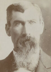 From Brillion, Wis, Photo Of Man W/ Piercing Eyes + Long Goatee