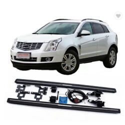 2pcs Deployable Running Board Fits For Cadillac Srx 2010-2015 Side Step Nerf Bar