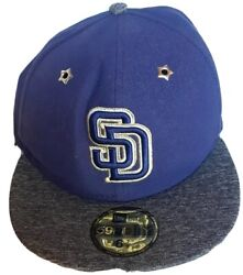 San Diego Sd Padres 6 7/8 New Era 59fifty Authentic Collection