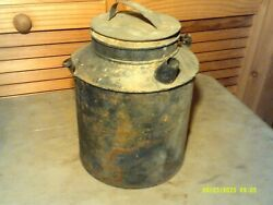Antique Chesapeake And Ohio Railway Marked C And O Ry Gas Can Lid Spout Handle