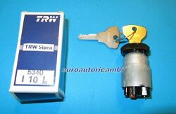 Fiat 500 Original Sipea N - D - F Ignition Switch Dashboard Mount New