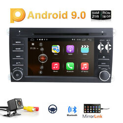 Android10 Car Stereo For Porsche Cayenne Radio Audio Navigation Head Unit Gps Bt