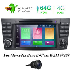 8-core 64gb Rom For Mercedes Benz E-class W211 Cls W219 Car Dvd Gps Stereo Radio