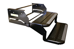 24 Inch Wide Double Rv Camper Step Caravan 12 Inch Drop Fold Out Entry Step