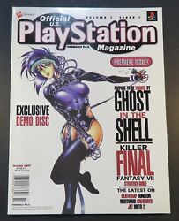 1997 Official U.s Play Station Video Game Magazine 1 October Premiere Issue