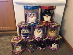 Furby New In Box And 70+ Mcdonalds With Packaging