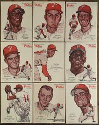 1964 PHILADELPHIA PHILLIES EVENING AND SUNDAY BULLETIN COMPLETE MASTER SET 28 $400.00
