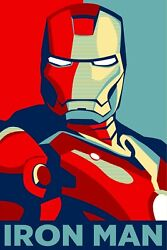Iron Man Hope Poster 24x36 Inches