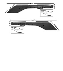 Ford Mustang Full Rail Front Frame Inner And Outer Panel Set Left And Right 1965-70