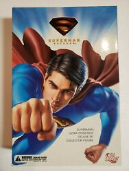 Superman Returns 13quot; Deluxe Collector Figure DC Direct New Sealed