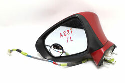 Lexus Ct200h Side View Mirror Left/driver Red 87940-76040 Oem 11-12 A887 2011 2