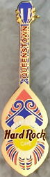 Hard Rock Cafe Queenstown 2001 Grand Opening Go Pin Maori Carving Guitar 7636