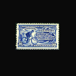 Usa Special Delivery Stamp- Mint Ogandnh, Xf Se6a Post Office Fresh Gem...