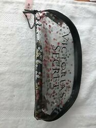 VICTORIAS#x27;S SECRET CLEAR COSMETIC MAKE UP BAG NEW WITH TAGS $12.99