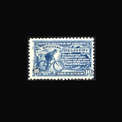 Usa Special Delivery Stamp- Mint Ogandnh Vf Se10 Two Tiny Natural Indents In The