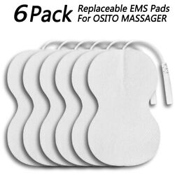 Osito Electrode Pads Replacement Gel For Tens Unit Machine Massagers 3 Pairs