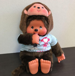 Rare Monchhichi Plush Giant 50 Cm Seven-eleven Christmas Limited By Dhl