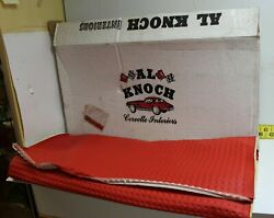 Nos Al Knoch Interior Pressed Red Leather Upholstery 768-228 1960s Corvette Fb6