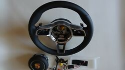 991.2 Pdk Multi Function New Style Steering Wheel And A-b Fit With Module 991.1 Mf
