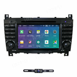 For Mercedes Benz C Clk W203 W209 7 Android 10 Radio Dvd Player Car Stereo Nav