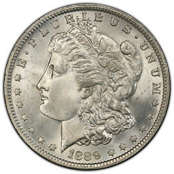 1889-o 1 Doubled Date Pcgs Ms 65 Vam 6 Low Pop Top-100 Morgan Dollar Variety