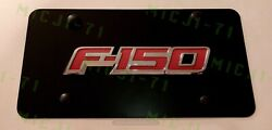 F-150 Front Auto Heavy Duty Vanity Stainless Metal License Plate Frame