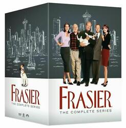 Frasier The Complete Series Seasons 1-11 Dvd 44-disc Set Usa Seller.