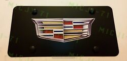 Cadillac Front Auto Heavy Duty Vanity Stainless Metal License Plate Holder Frame