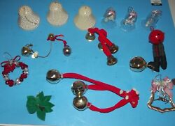 Merry Christmas 16 Bell Holiday Ornaments Jingle Bells Wreath And More Decorations