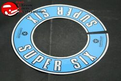 Chrysler Dodge Plymouth Super Six Air Cleaner Decal Free Shipping