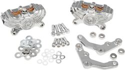 Performance Machine Front Vintage 4-piston Calipers 0052-4006-ch