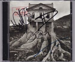 Bon Jovi This House Is Not For Sale Signed Cd All 4 Members John Rare Autograph
