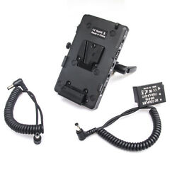 Wy-vg2 Power Supply Battery Plate V-mount D-tap To Lp-e17 Coupler For Canon Eos