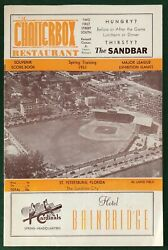 1951 Spring Training Score Book N.y. Giants Vs. St.louis Cardinals Stan Musial