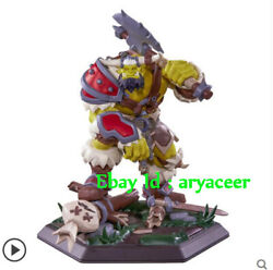 25th Anniversary Of Warcraft Around The Game Figure Model Orc/infantry Gk Statue