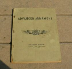 Ww2 Us Army Air Force Advanced Armament Bombardment Department Book