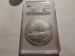 2013 P Us Mint Atb Fort Mchenry 5 Ozt Silver Pcgs Sp69 First Strike Mercanti