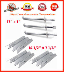 Vermont Castings Gas Grill Replacement Part Burner Heat Plate Shield Repair Kit
